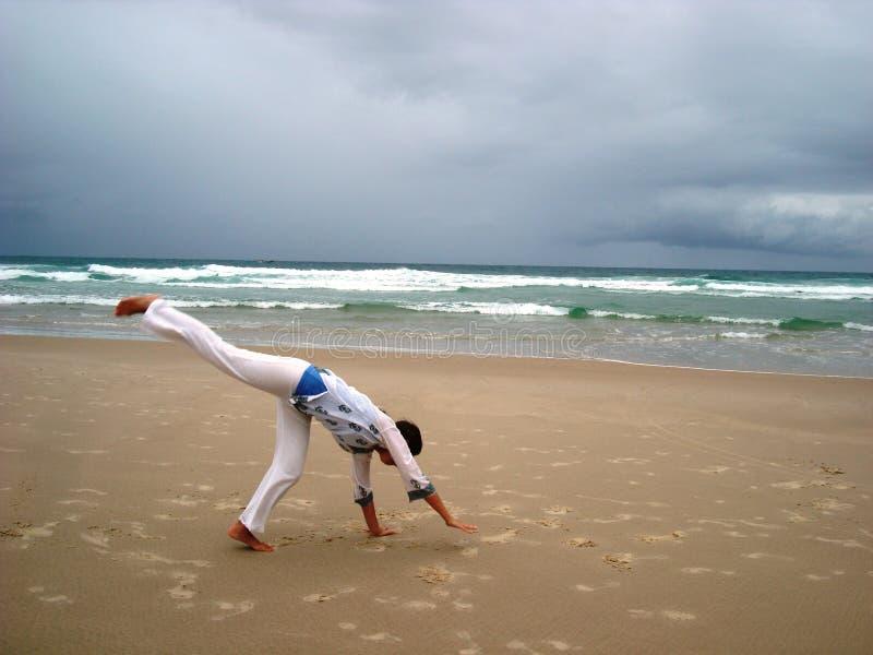 Gimnastics перед штормом 3 стоковые изображения