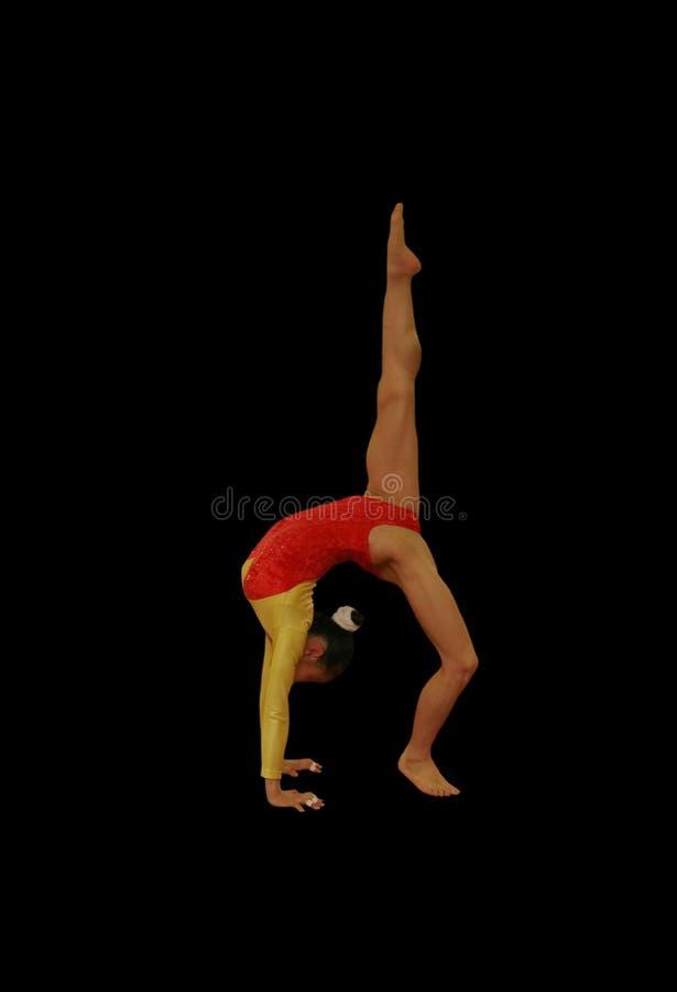 gimnastyk pozy zdjęcie stock