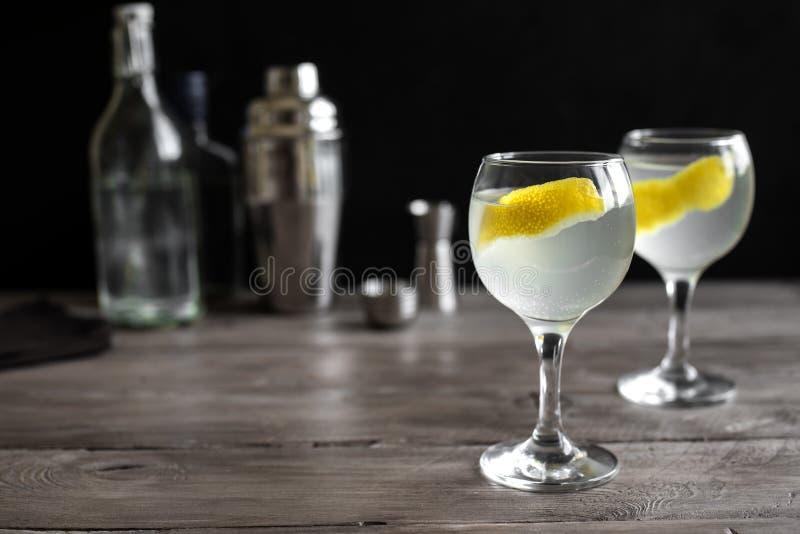 Gin Blossom Cocktail stockbild