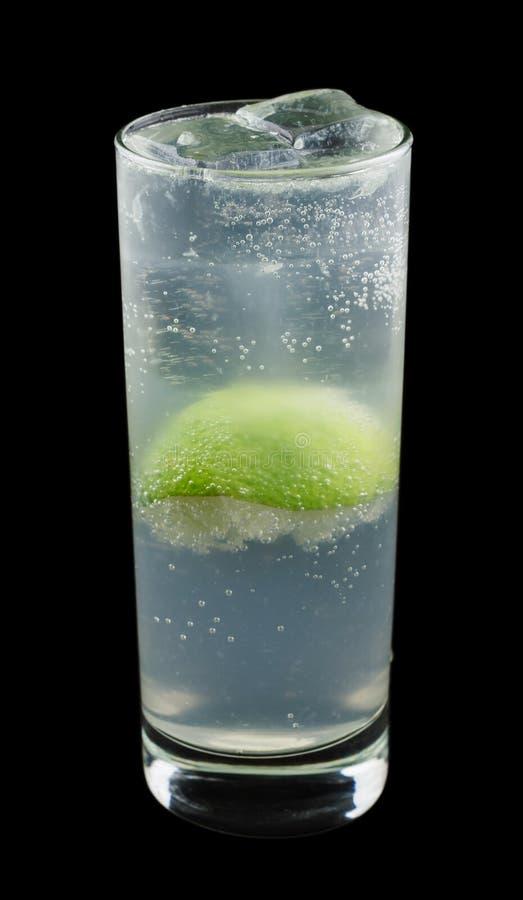 Gin Rickey drink arkivfoto