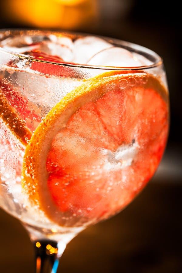 Gin Tonic imágenes de archivo libres de regalías