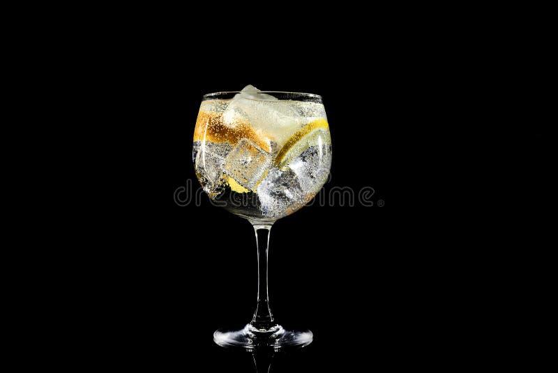 Gin tonic classic stock photo