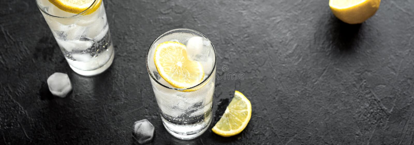 Gin Tonic Cocktail stock image