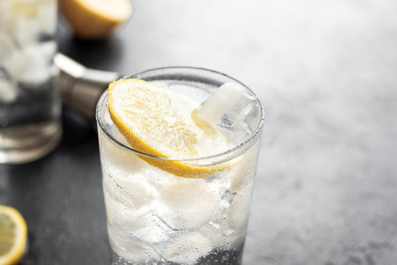 Gin Tonic Cocktail royalty free stock images