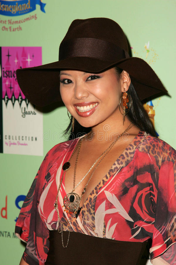 Gina Hiraizumi. At the unveiling of the limited edition Disneyland 50th Collection, Fred Segal, Santa Monica, CA 07-13-05 stock image