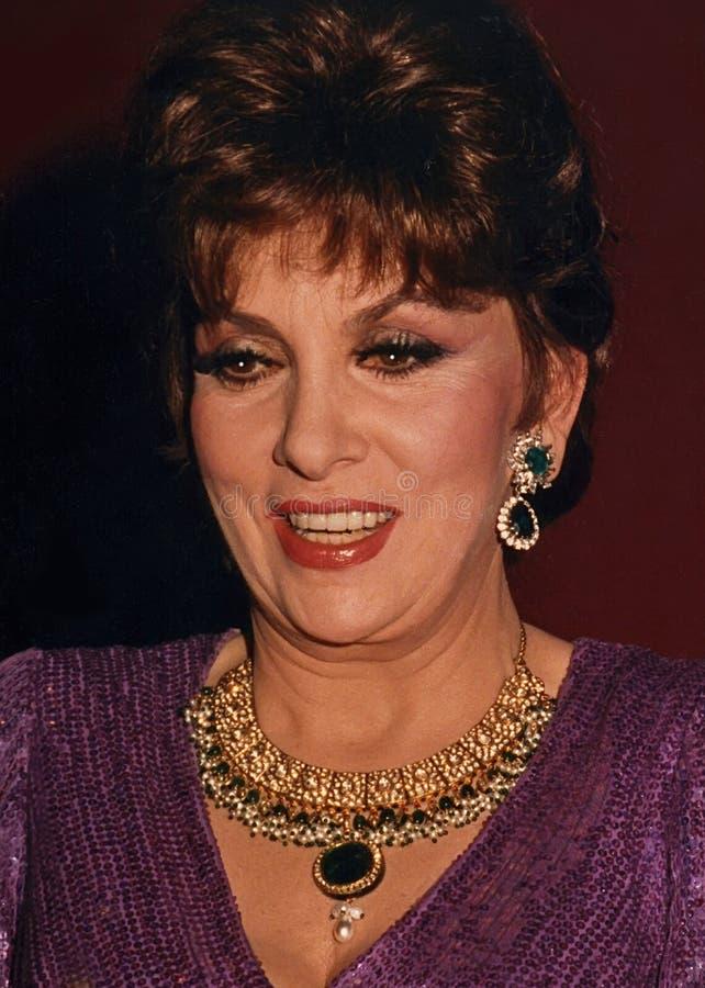 Gina Lollobrigida photo stock