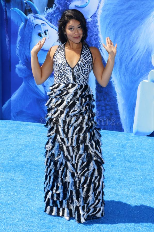 Gina Rodriguez royalty-vrije stock afbeeldingen
