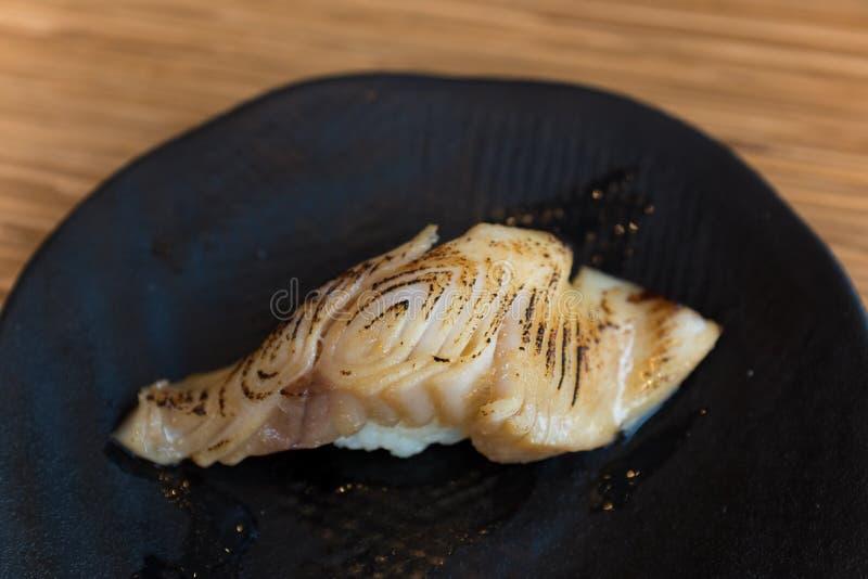 Gindara寿司 免版税图库摄影