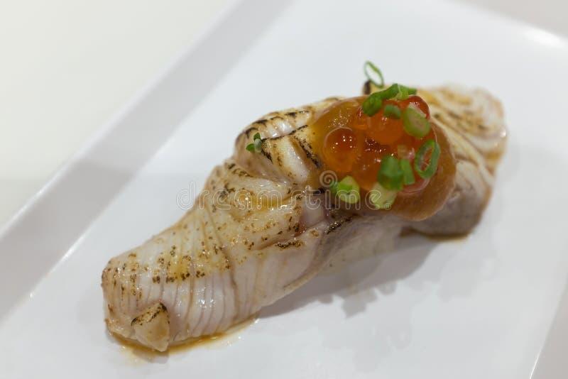 Gindara寿司 免版税库存图片