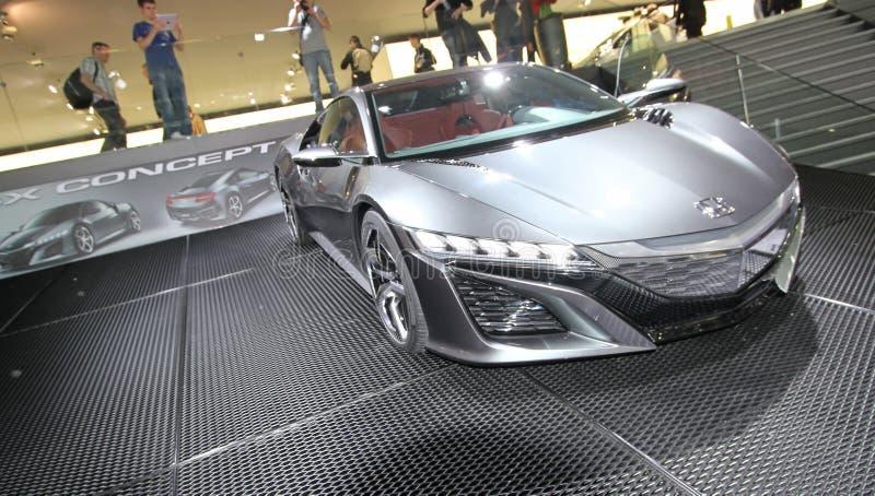 Concepto de Honda NS-X fotografía de archivo libre de regalías