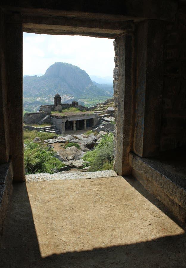 Gingee fortu wzgórze obrazy royalty free