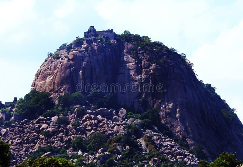 Gingee fortu wzgórze obraz royalty free