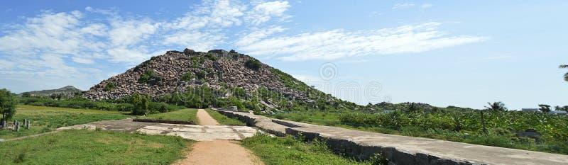 Gingee krishnagiri fort obraz stock