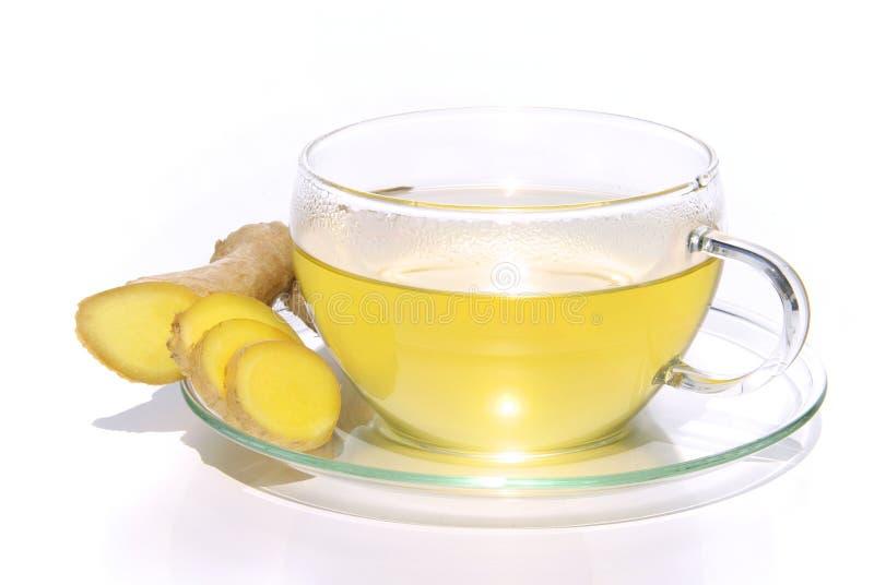 Gingembre de thé photos libres de droits
