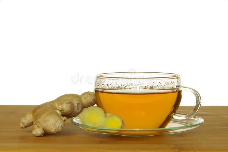 Download Gingembre de thé photo stock. Image du blanc, sain, santé - 8670548