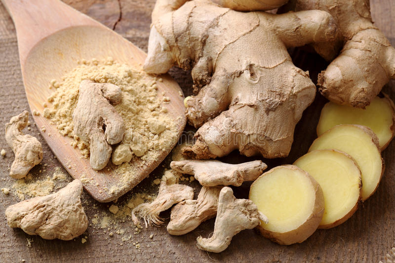 Ginger stock images