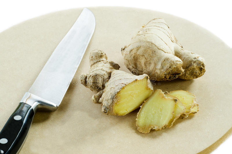 Download Ginger stock image. Image of slice, root, background - 26586721