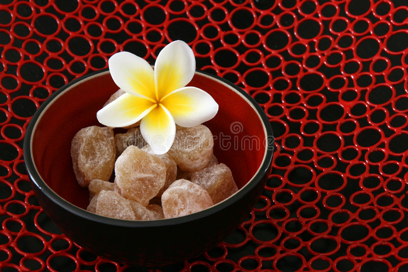 Ginger Asian Style royalty free stock photography