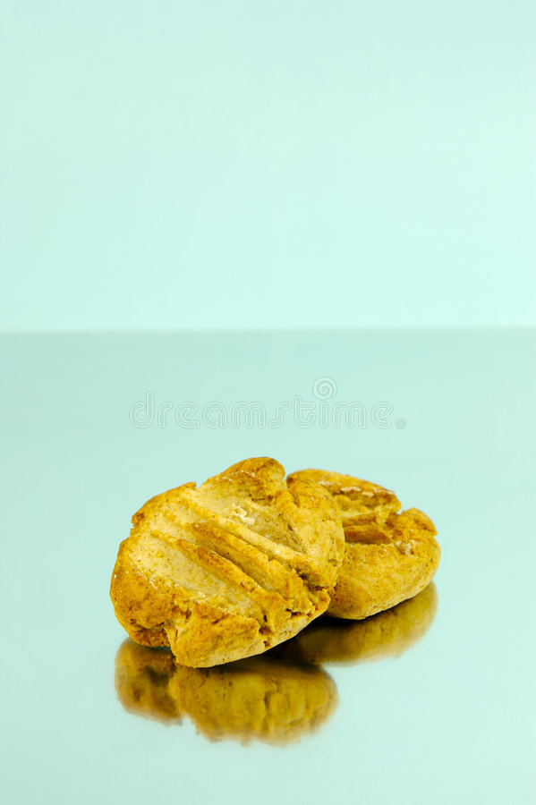 Ginger Biscuits royalty free stock photo