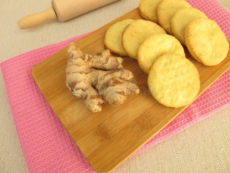 Ginger Biscuits photos libres de droits