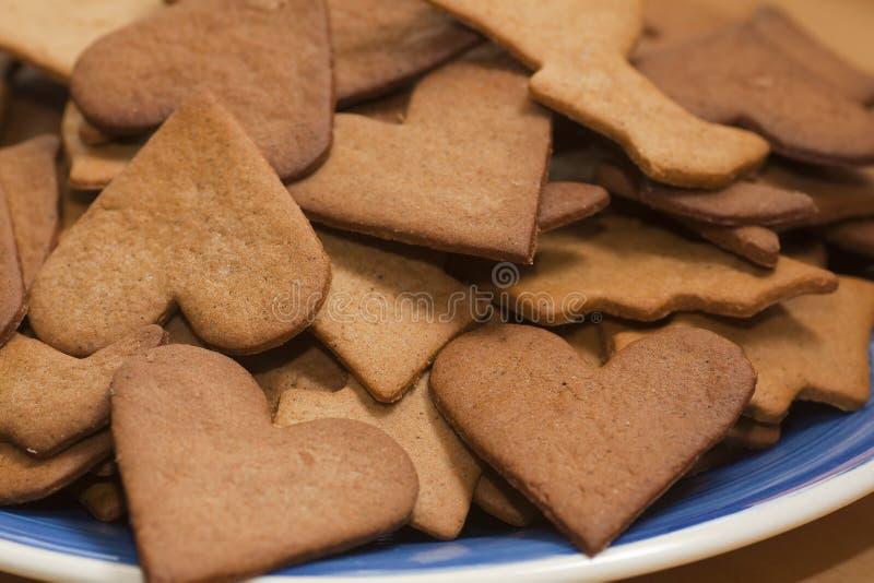 Ginger Bread Cookies royalty-vrije stock afbeelding