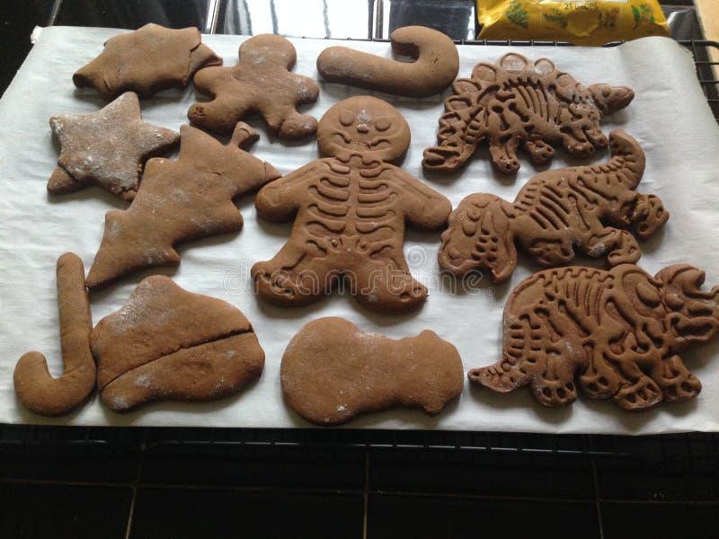 Ginger Bread Cookies stockfoto
