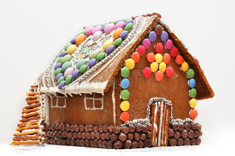 Ginger Bread House royalty free stock images