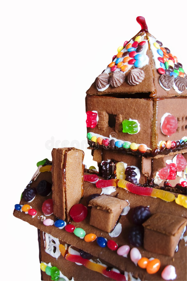 Download Ginger Bread House stock image. Image of challenge, large - 514667