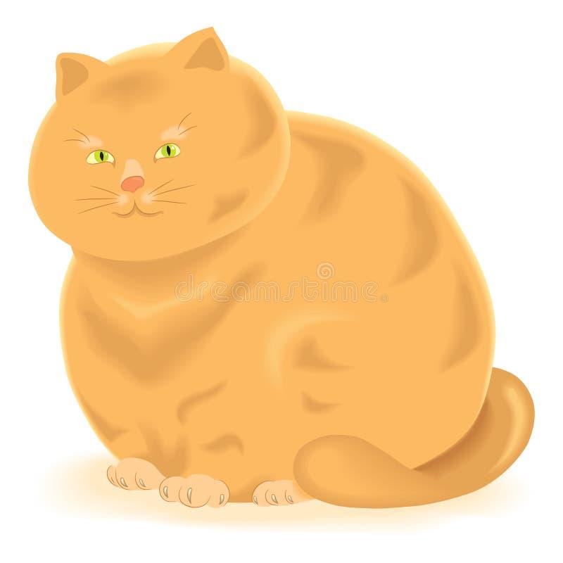 Download Ginger cat stock vector. Illustration of playful, carnivore - 25847854