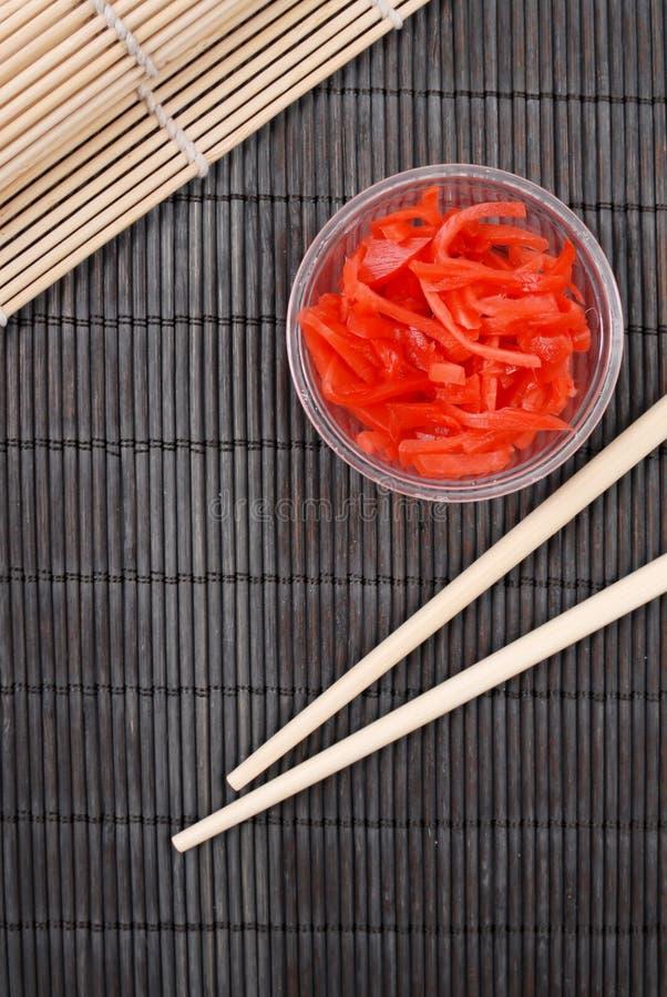 Download Ginger With Chopsticks stock image. Image of chopsticks - 21656385