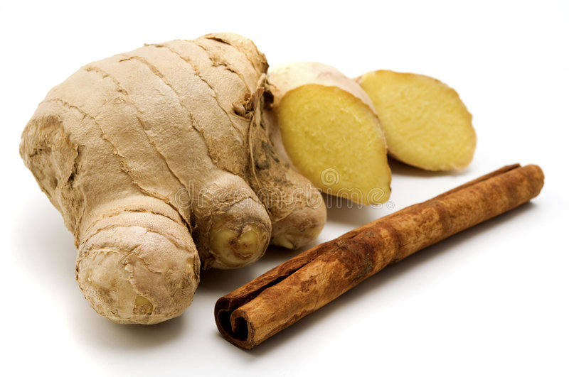 Ginger and Cinnamon royalty free stock photo