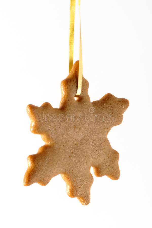 Ginger cookie stock photography