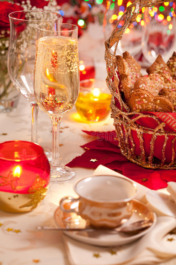 Download Ginger Cookies On A Festive Table Stock Photo - Image: 22067728