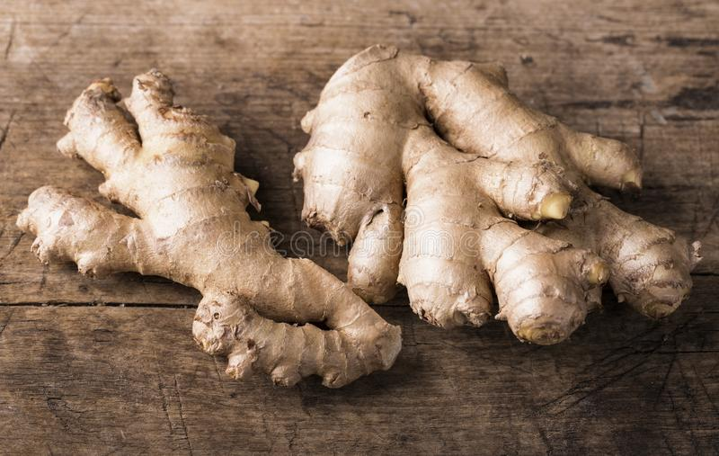Download Ginger  fresh roots stock image. Image of food, wooden - 106514867