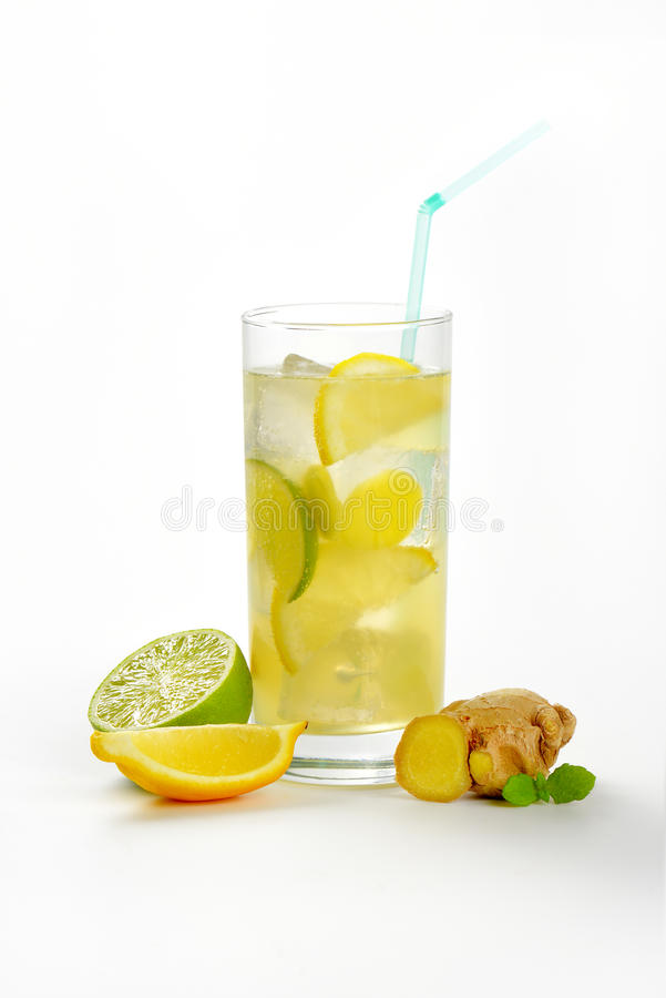 Free Ginger Ice Tea Royalty Free Stock Image - 61359266