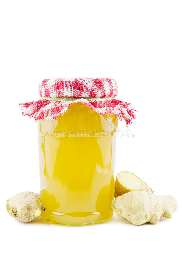 Download Ginger jelly stock photo. Image of root, container, preserving - 33415446