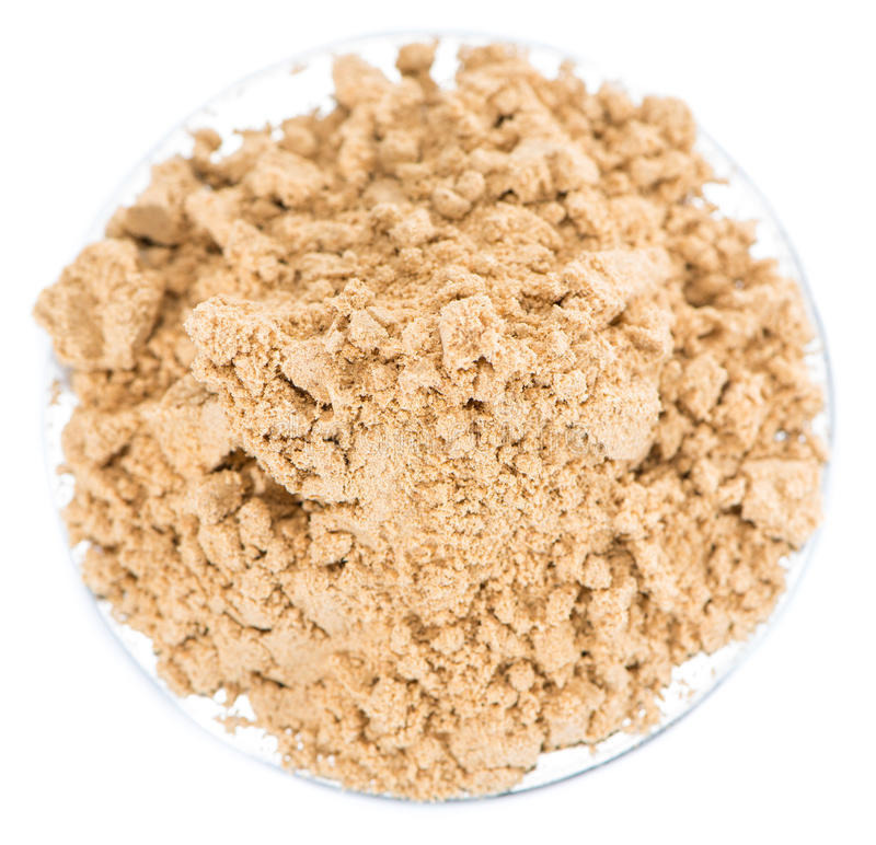 Ginger Powder stock afbeeldingen