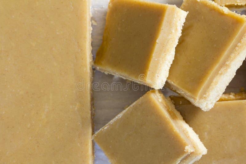 Ginger Slice Cut ed impilato fotografia stock libera da diritti