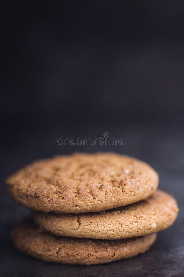 Ginger Snap Biscuits photo libre de droits