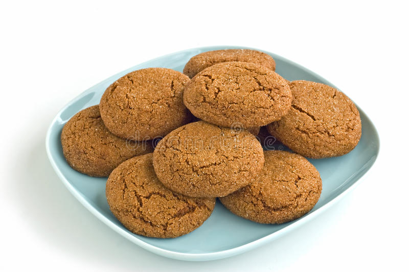 Download Ginger snaps stock photo. Image of ginger, isolated, brown - 13004556