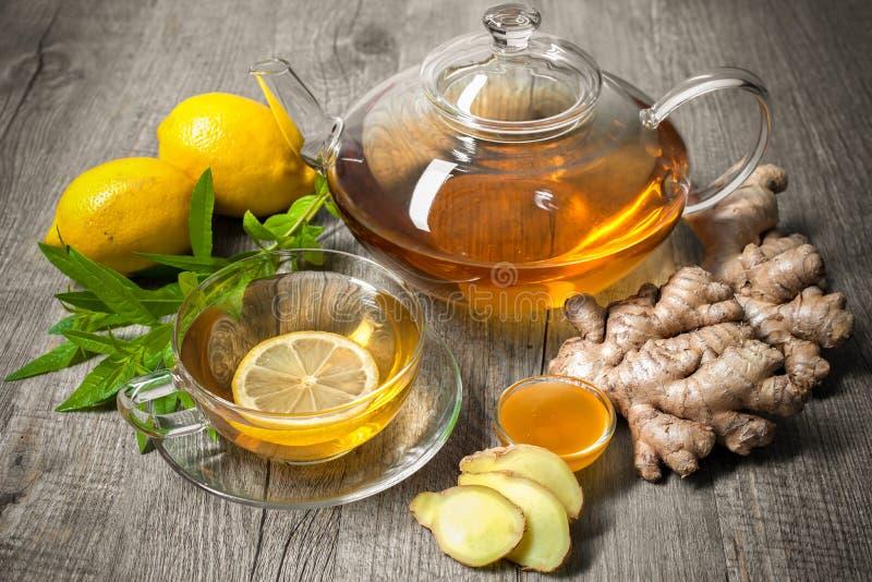Ginger Tea fotografía de archivo libre de regalías