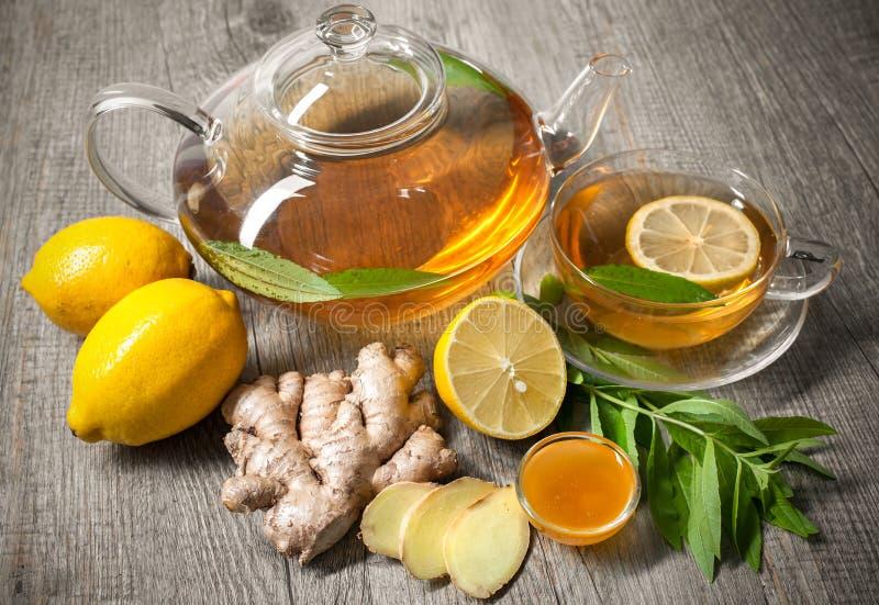 Ginger Tea imagen de archivo