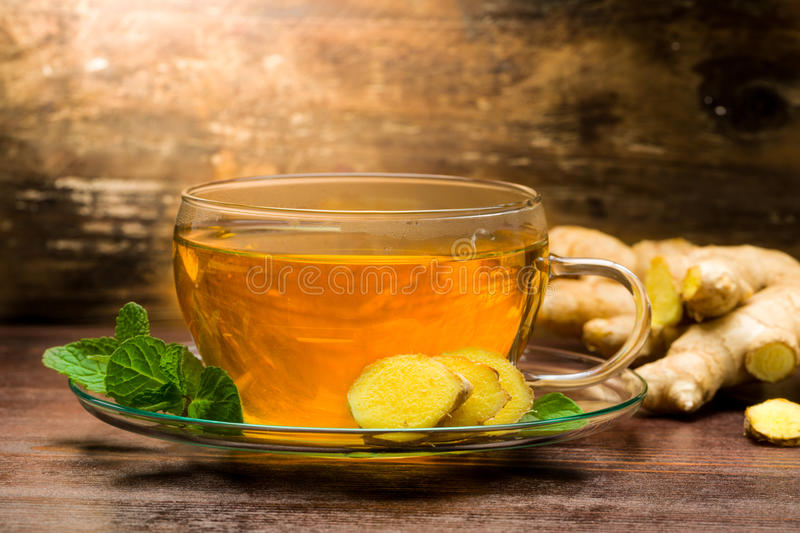 Ginger Tea fotografia de stock royalty free