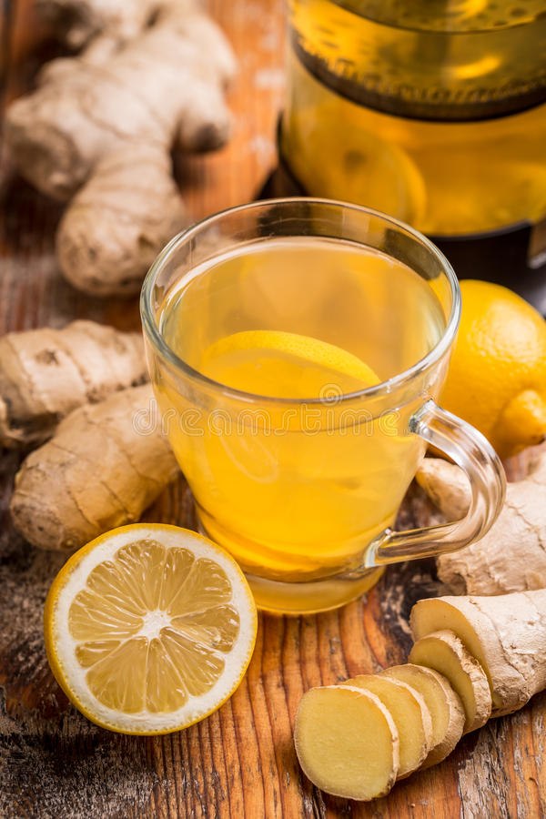 Ginger Tea arkivbild
