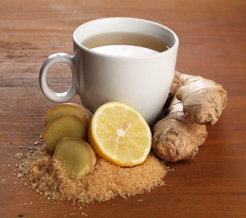 Download Ginger tea stock photo. Image of medicine, detail, lemon - 32583034