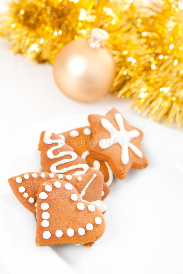 gingerbread печений стоковое изображение