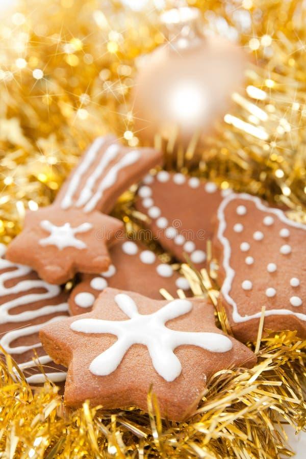 gingerbread печений стоковые изображения