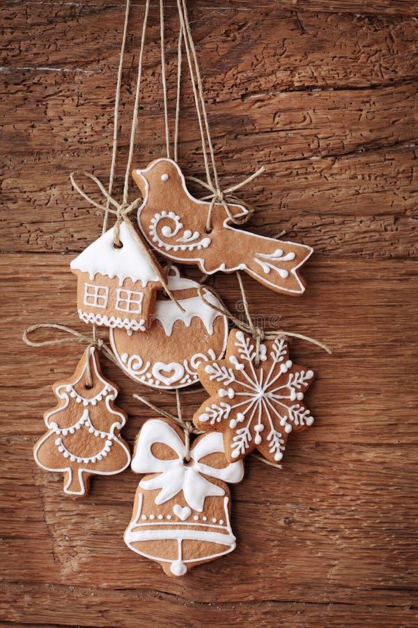 gingerbread печений стоковое фото