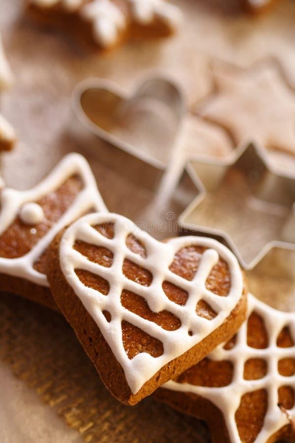gingerbread рождества стоковые изображения