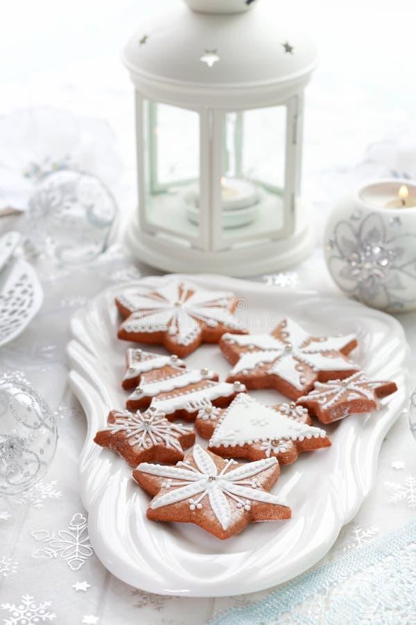 Gingerbread рождества стоковые фото